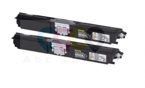 Tonere Epson S050557 - C1600 / CX16 - Negru - Doublepack