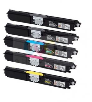 Tonere Epson C1600 / CX16 - Set color + 2x Negru