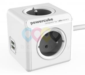 PowerCube Extended USB Grey